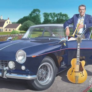 Jay Geils & his 1961 Ferrari & his Gibson Guitar - Chris Osborne