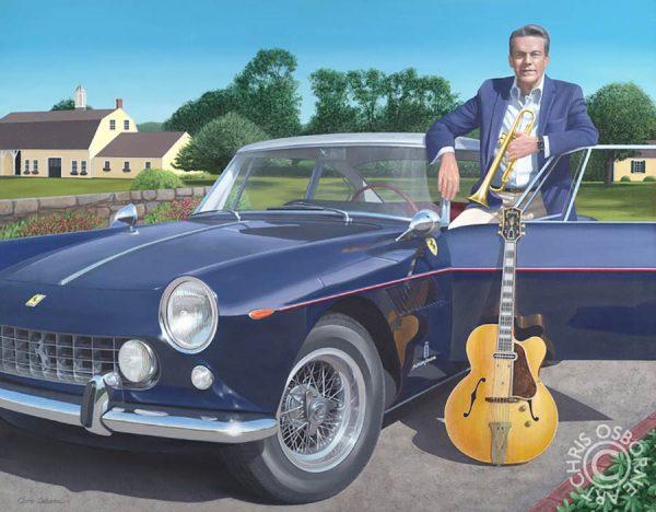 Jay Geils & his 1961 Ferrari & his Gibson Guitar - Chris Osborne