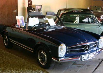 1965 Mercedes 230SL Interior shot