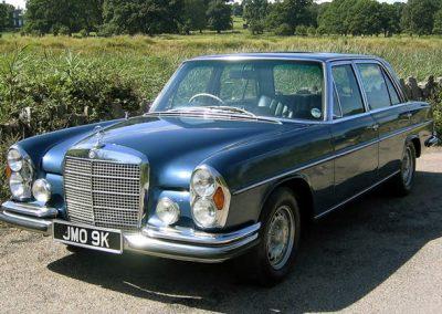 Donovan's Mercedes