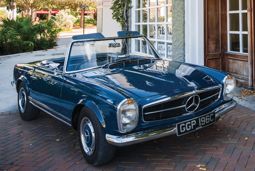 John Lennon's Mercedes 230SL on sale