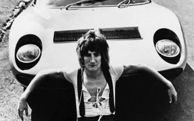 Rod Stewart's Lamborgini Muiras