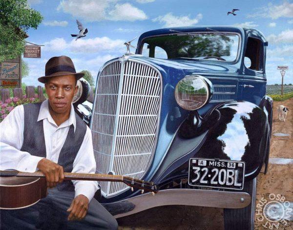 Chris Osbourne - Robert Johnson & the Blue Terraplane