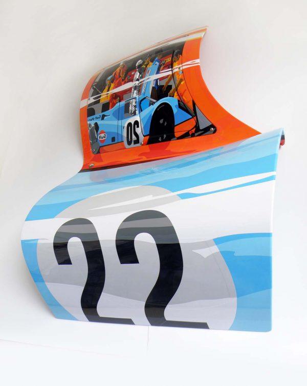 Joel Clark 917 Racing Porsche Door