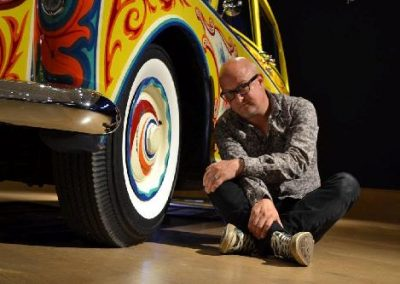 KM with the real John Lennon Rolls care of Bonhams